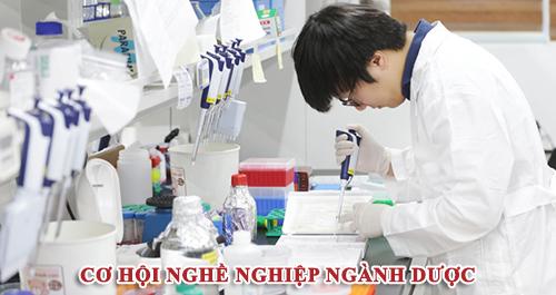 Cơ hội nghề nghiệp ngành Dược rộng mở