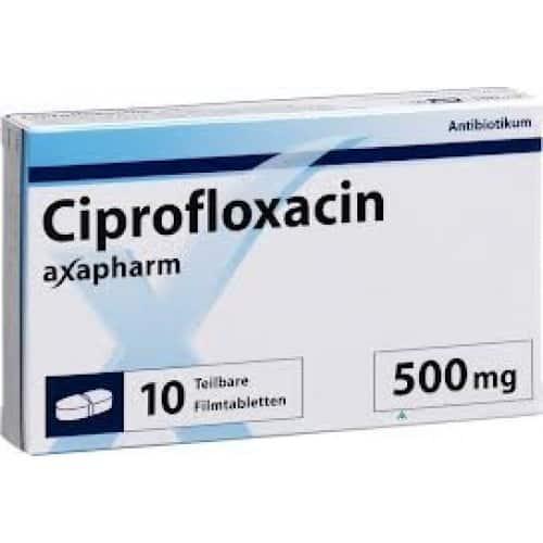 Liều dùng thuốc Ciprofloxacin