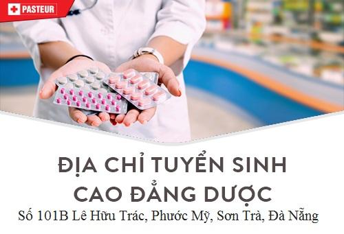 Địa chỉ tuyển sinh Cao đẳng Dược Đà Nẵng năm 2018
