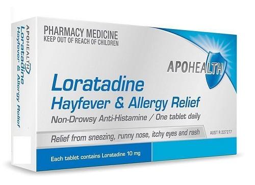 Tác dụng phụ khi sử dụng thuốc Loratadine