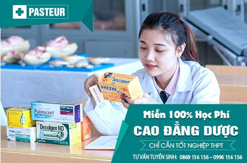 Điều kiện xét tuyển Cao đẳng Dược TP Hồ Chí Minh