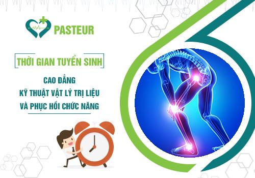Thời gian tuyển sinh Cao đẳng Kỹ thuật Vật lý trị liệu phục hồi chức năng Đà Nẵng năm 2018