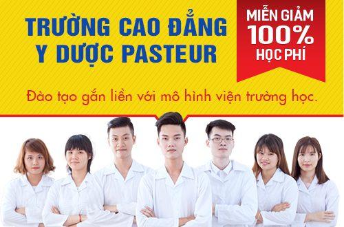 Trường Cao đẳng Y Dược Pasteur đào tạo Văn bằng 2 Cao đẳng Dược chất lượng cao