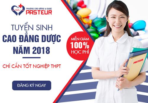 Trường Cao đẳng Y Dược Pasteur tuyển sinh Cao đẳng Y Dược năm 2018