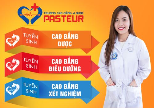 Mã ngành học Y Dược tại Trường Cao đẳng Y Dược Pasteur Đà Nẵng năm 2018