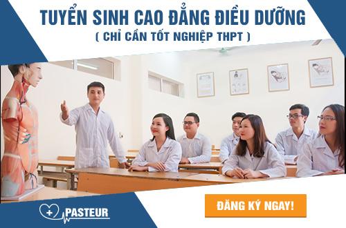 Đào tạo Điều dưỡng viên giỏi tại Trường Cao đẳng Y Dược Paster