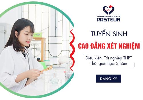 Thời gian đào tạo Cao đẳng Xét nghiệm Đà Nẵng năm 2018 là bao lâu?