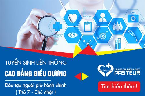 Hồ sơ liên thông Cao đẳng Điều dưỡng Hà Nội năm 2018