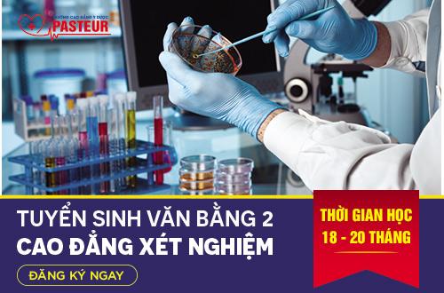 Tuyển sinh Văn bằng 2 Cao đẳng Xét nghiệm Hà Nội 2018