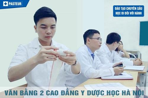Đào tạo văn bằng 2 Y Dược tại Hà Nội