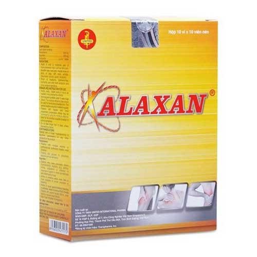 Cách sử dụng thuốc Alaxan an toàn cho sức khỏe