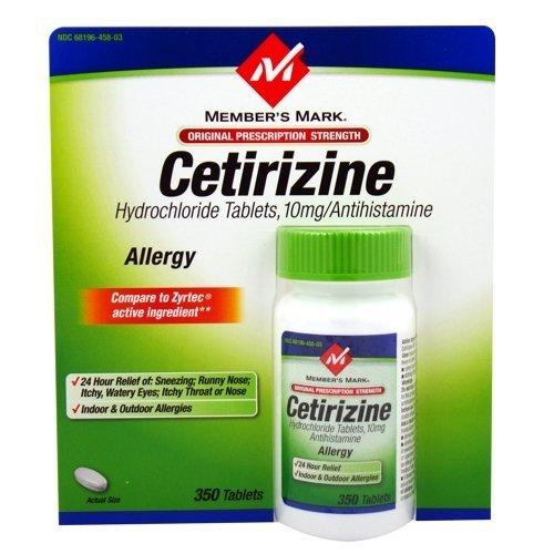 Tìm hiểu thông tin về thuốc Cetirizine