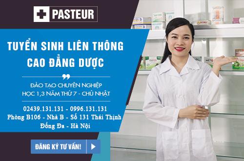 Liên thông Cao đẳng Dược tại Hà Nội