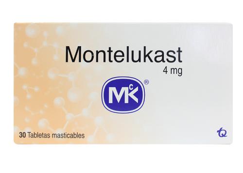 Thuốc montelukast có những dạng và hàm lượng nào?