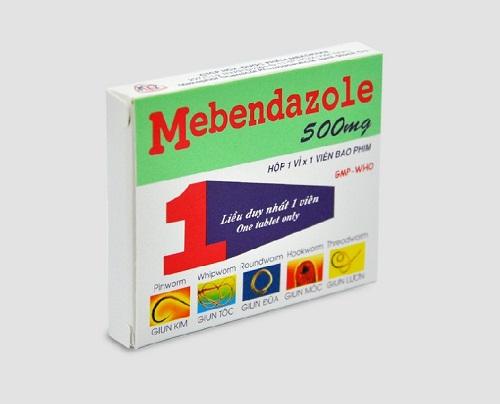 Công dụng và liều dùng thuốc mebendazole
