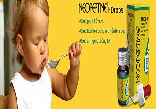 Lưu ý khi sử dụng men tiêu hóa Neopeptine