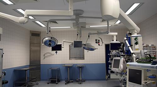 Máy móc hiện đại cũng quyết định rất lớn đến thành công của ca phẫu thuậtMáy móc hiện đại cũng quyết định rất lớn đến thành công của ca phẫu thuật
