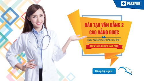 Điều kiện miễn 100% học phí Văn bằng 2 Cao đẳng Dược Đà Nẵng năm 2018