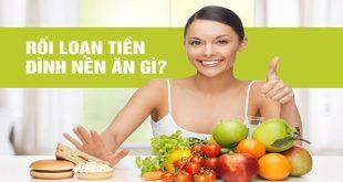 Chế độ ăn uống phù hợp với người bị rối loạn tiền đình