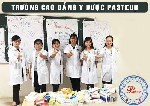 Thông báo tuyển sinh Cao đẳng Dược Trường Cao đẳng Y Dược Pasteur