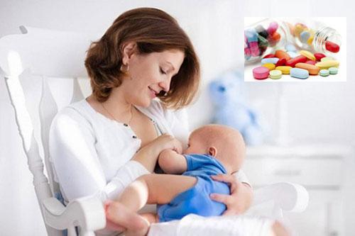 Một số loại thuốc làm giảm sữa mẹ