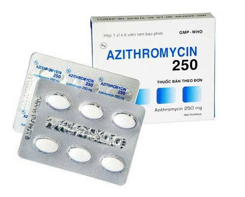 Tác dụng của thuốc Azithromycin