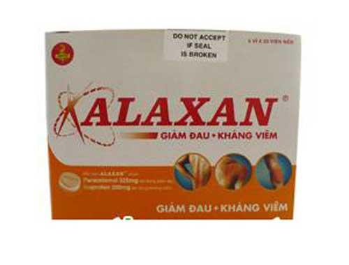 Tác dụng phụ thuốc Alaxan gây ra