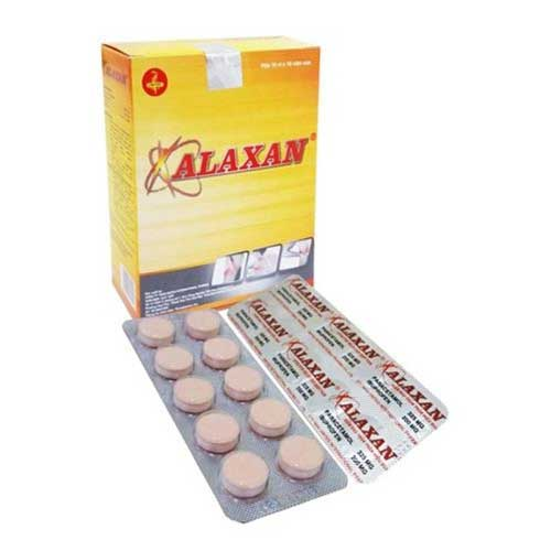 Tác dụng phụ của thuốc Alaxan
