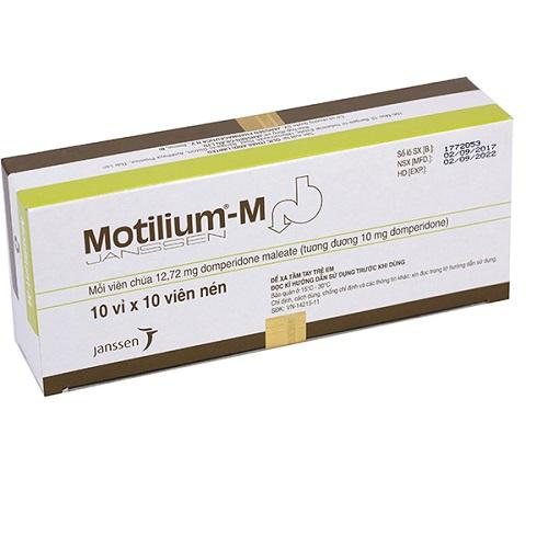 Tác dụng phụ khi dùng Motilium®