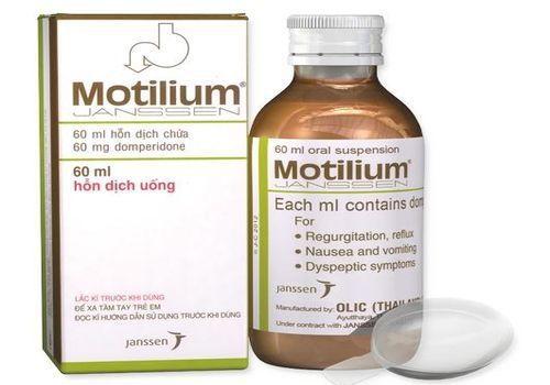 Tác dụng của thuốc Motilium® là gì?