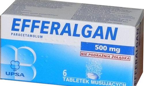 Thông tin về thuốc Efferalgan 500mg