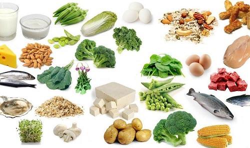 Tăng cường thực phẩm giàu Viatamin D, A
