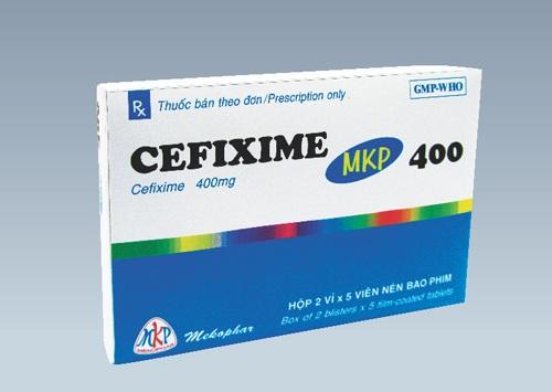 Hàm lượng thuốc Cefixim