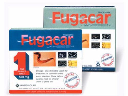 Thuốc giun Fugacar có gây ra tác dụng phụ hay không?