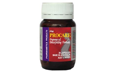 Thuốc bổ procare dành cho bà bầu