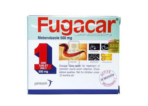 Tìm hiểu thông tin về thuốc Fugacar