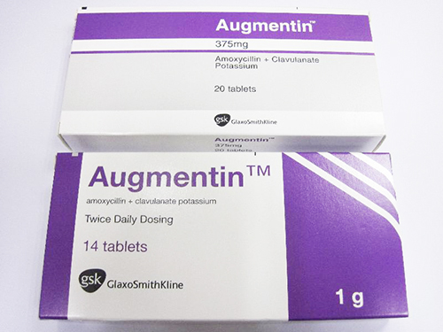 Tìm hiểu về thuốc kháng sinh Augmentin 500mg