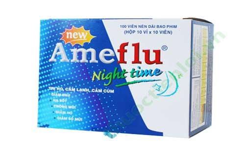Trình dược viên tư vấn sử dụng thuốc Ameflu ban đêm