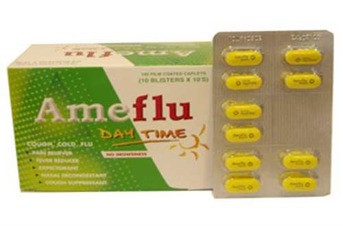 Trường hợp không được dùng thuốc Ameflu ban đêm