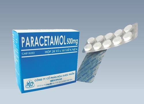 Paracetamol có những hàm lượng nào?