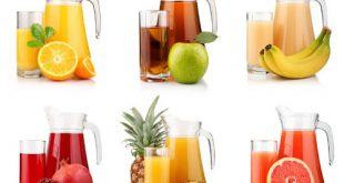 Uống thuốc bằng nước hoa quả