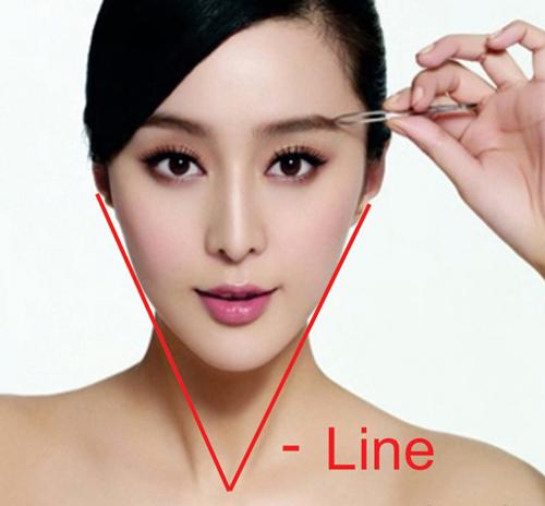Những thần tượng là người đã tạo ra trào lưu của khuôn mặt V-line