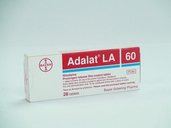 Tác dụng phụ của thuốc tim mạch Adalat là gì?
