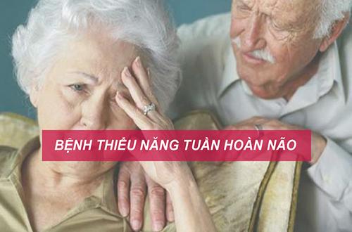 Bệnh thiểu năng tuần hoàn não ở người già