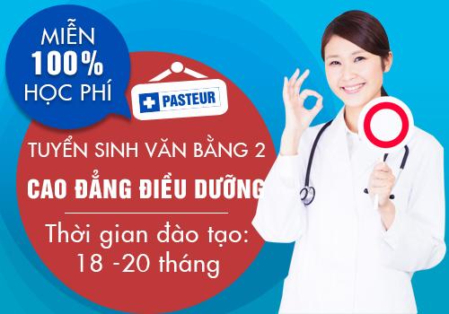 Cơ hội miễn 100% học phí Văn bằng 2 Cao đẳng Điều dưỡng Đà Nẵng năm 2018