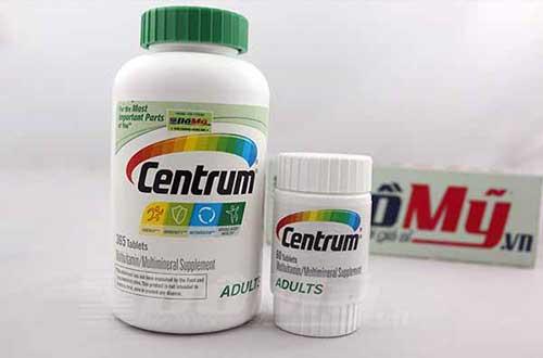 Bổ sung Vitamin nhờ tác dụng của Centrum