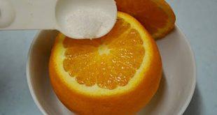 Cam hấp muối thực phẩm vàng dành cho trẻ bị ho
