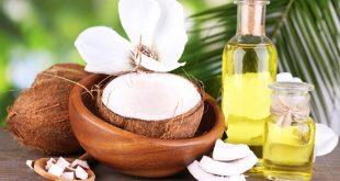 Dầu dừa là nguyên liệu trị sẹo rỗ rất đơn giản