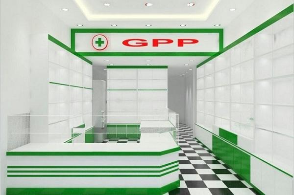 Nhà thuốc GPP phải có diện tích tối thiểu là bao nhiêu mét vuông?