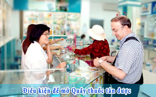 Muốn mở quầy thuốc kinh doanh tối thiểu phải Tốt nghiệp Trung Cấp Dược